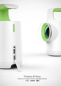 Luma - Video Projector on Behance
