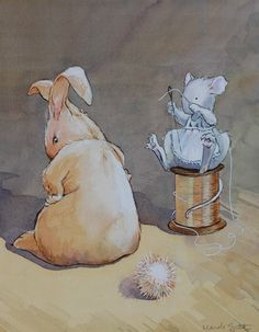 Rabbit is forever losing its things...