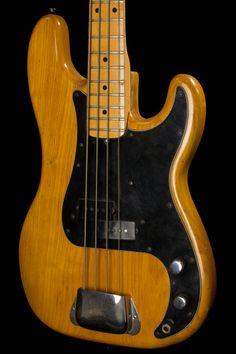 Vintage 1975 Fender Precision Bass Maple Neck Fender Bass Guitar, Leo Fender, Telecaster Guitar, Fender Guitars, Jaco Pastorius, Fender Precision Bass, Guitar Stand, Double Bass, Vintage Guitars