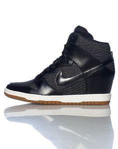 size 40 6f3c3 17b8a NIKE High top women s wedge sneaker Lace up closure Mesh for breathability  Padded tongue with NIKE