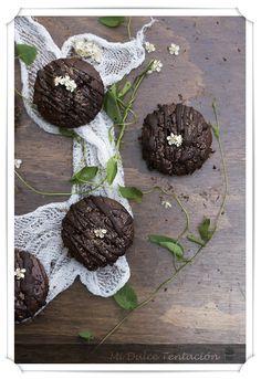 Mi dulce tentación: Magdalenas de Chocolate bajas en Calorias