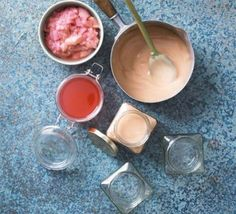 Rhubarb curd