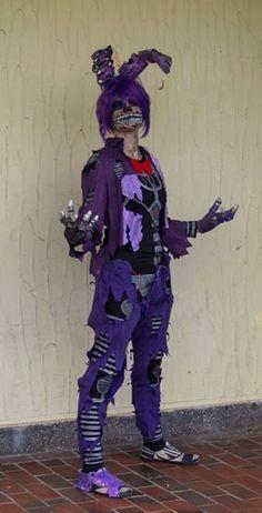 [Cosplay] Nightmare Bonnie by Milchwoman