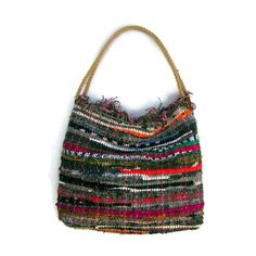 Large Boho Chic Shoulder Kilim Bag. Large Boho Beach by maslinda