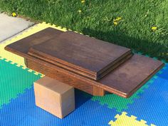 SINGER TREADLE SEWING MACHINE CABINET TABLE TOP +BELLY +CENTER DRAWER 15 66 127 #Singer