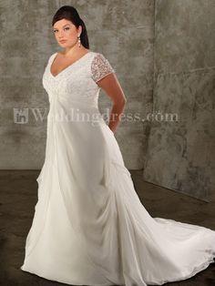 Style PS041-Plus Size Wedding Dresses