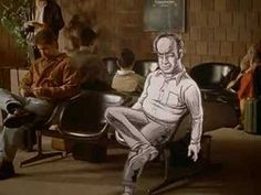 American Splendor (trailer). Notable Scenes: animated characters with live action background; live actors with animated background; showing both the actor, Paul Giamatti, and Harvey Pekar, especially in David Letterman scenes.