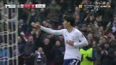 3/3/18: Heung-Min Son Scores On Breakaway For Tottenham! -NBCSports