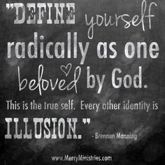Discover and share Quotes About Identity In Christ. Explore our collection of motivational and famous quotes by authors you know and love. Great Quotes, Quotes To Live By, Inspirational Quotes, Motivational, Awesome Quotes, Cool Words, Wise Words, Wise Sayings, Soli Deo Gloria