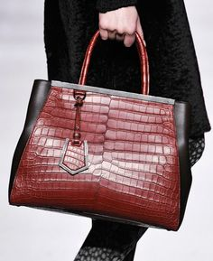 Fashion Week Handbags: Fendi Fall 2012. Love this bag!