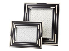 Give your snaps the edge with this bold photo frame from Linley. We love its architecturally inspired lines, which contrast beautifully in slick ebonised sycamore and matte nickel-silver. Fill with a vintage photograph to perfect the Broadwalk Empire look, or with your favourite colour shot for a modern spin. #LuxDeco #Design #Homeware