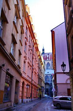 Týnská ulička, Old Town, Prague, Czechia Prague Old Town, Prague Czech Republic, Europe, Explore, Street, City, World, Travel, Czech Republic