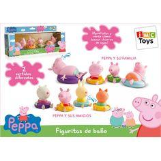 Juguete PEPPA PIG FIGURAS DE BAÑO Precio 16,60€ en IguMagazine #juguetesbaratos