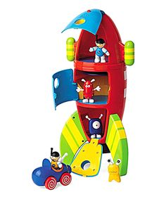 Take a look at this Two-in-One Space Rocket Set today!