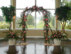 indoor garden wedding reception ideas - Bing Images