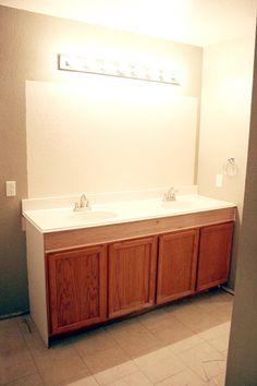 to raise up a short vanity bathroom vanities products and vanities