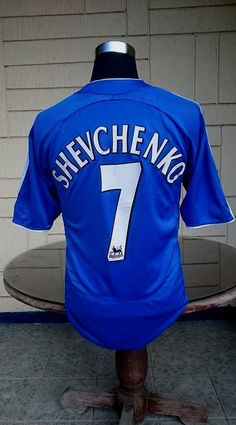 b1b1640e7d English premier chelsea 2006-07 fa cup   league cup champion shevchenko 7  jersey adidas shirt medium