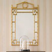 #399.99 SALE Golden Pagoda Mirror GUMPS