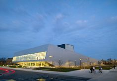 The Wolfe Center for the Arts provides a unique opportunity to combine a diverse range of related programs into one facility for students and faculty alike. ...