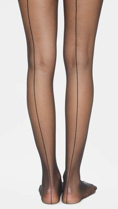 195c2a8b443 Wolford Individual 10 Back Seam Tights