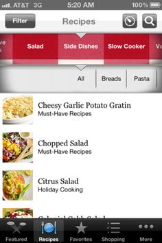 Must-Have Recipes from Better Homes and Gardens - FREE app for iPhone