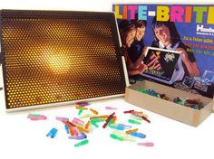 "I LOVED my Lite Brite. Sing along with me ""Lite Brite, making things with light."""