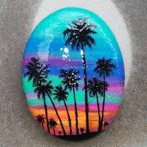 DIY Ideas Of Painted Rocks With Inspirational Picture And Words (25)