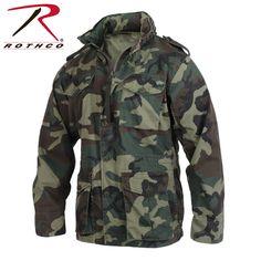Woodland Camo Rothco 7660 Kid/'s M-65 Field Jacket