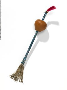 National Museum of the American Indian : Rattle for peyote rituals, Cheyenne, Montana.