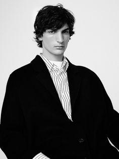Sandro FW17.  menswear mnswr mens style mens fashion fashion style sandro campaign lookbook