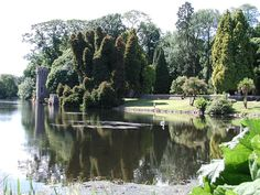 Castles in Ireland | gardens at Johnstown Castle in Ireland