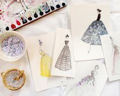 PaperFashion: Illustrating Your Favorite Runway Looks - Skillshare