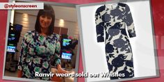 Want to know where Ranvir got her floral dress? Style on Screen can tell you. Good Morning Britain, Dresses With Sleeves, Long Sleeve, Floral, How To Wear, Style, Fashion, Swag, Moda