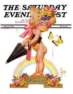 #Easter cover, by J.C. Leyendecker (April 16, 1938)
