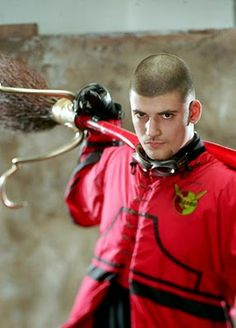 Viktor Krum.  He always had that kind of HP swag.   Not gonna lie, it was pretty hot ;)