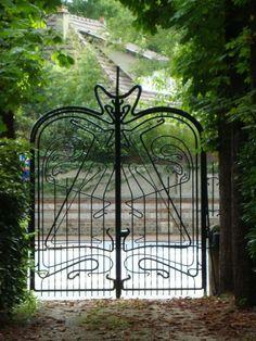 Grille villa Berthe, Le Vésinet - Guimard - France