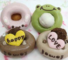 バレンタインセットの通販始めました~の画像 | イクミママのどうぶつドーナツのブログ Doughnut