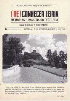 Postal publicitário alusivo à exposição (Re) Conhecer Leiria - Memórias e Imagens do Século XX. Edição PostalFree