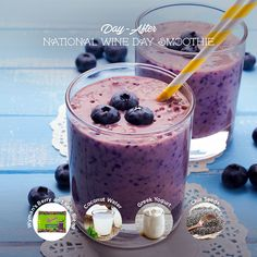 Kale to aid in detox, blueberries for powerful antioxidants, coconut water for re-hydration, and chia seeds for digestive balance. ... Use Wyman's frozen fruit to make healthy, delicious, easy  recipes including desserts, appetizers, main dishes, and more!
