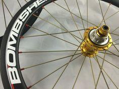 "New MTB Road BMX Bike 7075 Alloy Spoke Nipples 2.0mm 14G 5//8/"" 72 Pcs Orange"