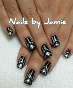 Gatsby Nails  Follow Nails by Jamie on Instagram! NailPro97401