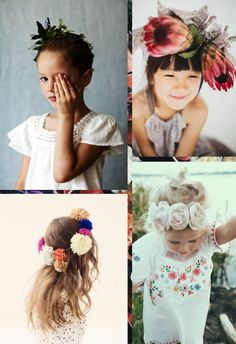 Bloesem Kids | Link Love: Flower crowns, sugar cookies and gummy bear popsicles are what weekends are made of