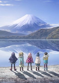 """""""Yurucamp"""" Anime Gets First Visual & Cast Members by Mike Ferreira"""