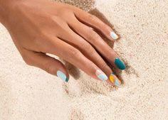 OPI Fiji GelColor Nail Art | Fiji Lines