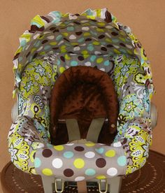 Baby car seat cover Infant car seat cover carseat by isewjo, $74.00