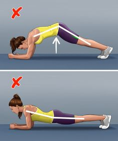 Fitness experts are sure that you can get in good shape without going to the gym. And the exercises that can be performed at home like plank, twists, and squats, are perfect for this. But they may only look simple at first glance — in fact, many people do them wrong. And this can not only affect their effectiveness, but it can also cause health problems.