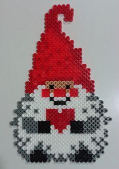 Christmas gnome hama beads