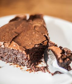 This Gluten Free Brownie is the best dessert I have ever had, besides the rich taste it also has this texture it's cracking on top and it's so moist and fluffy inside which is wonderful. http://articook.com/gluten-free-brownie/