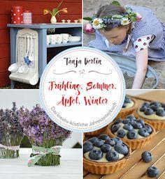 Book tip: Lovingly designed DIY book, Crochet Ornaments, Fall Diy, Diy Design, Shapes, Table Decorations, Tips, Handmade, Food, Berlin