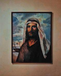 Vengan síganme y yo les enseñaré cómo pescar personas!. Mateo 4:19 . . . . #Nicaragua #painting #people #print #art #museum #portrait #exhibition #illustration #vintage #wear #religion #mustache #old #leader #painter #antique